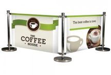 Cafe Barriers | Crowd Control Barriers | Barrier Posts / With 3 widths to choose from the Deluxe Cafe Barrier at Indigo Displays is ideal for circumscribing the designated areas outside retail establishments and restaurants.