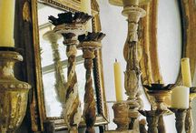 Fireplace, Mantles and Mirrors