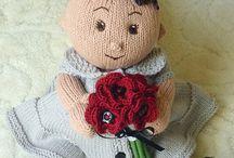knitting doll patterns