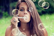 Bubble portraits