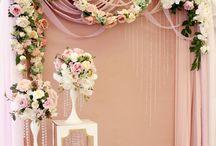Свадебный фон