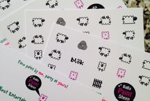 Baba paint sheep / Business card