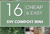 DIY-GLASS COMPOST BINS