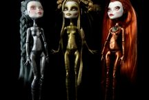 Monster high & Ever After high / Repaints, Redressing, Artists Creations
