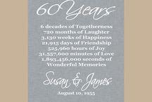 60 anniversary ideas