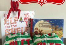 December - Kids stuff / Elf on the Shelf, holidays crafts and printables
