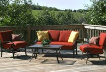 deck furniture ideas / by Mary Smith