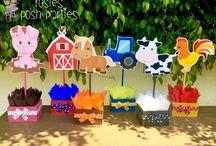 Farmees birthday theme