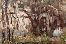 The forest thru the trees / Highlights of past Fine Art Auctions, featuring trees or forest .  Sold by John Moran Auctioneers, Pasadena, CA