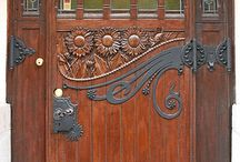 Cool Doors / I've always been drawn to unique and interesting doors. / by Sarah Goer