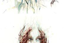 rysunki portrety