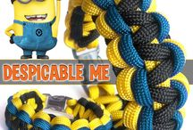 Paracord characters