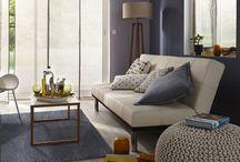 Salon / Découvrez nos inspirations et tendances déco intérieur pour réinventer votre séjour. #cocooning #design #tendance #couleur #homedesign