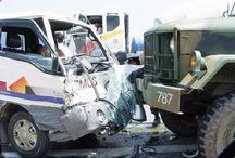 韓国軍用車事故