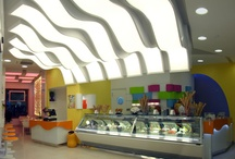 Il Gelato Perrucci - Cerignola / Arredamento della gelateria realizzato da Zingrillo.com