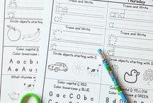 homework for kinder
