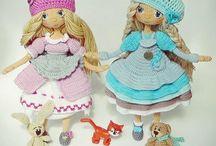 кукла вязание