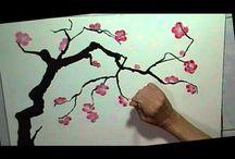 Japanese Ink painting tutorial