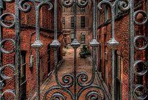 Secret garden gate  / by Jeff Fitzsimmons