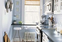 Tiny kitchen ideas / by Katie Walls