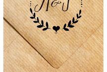 Logo wedding