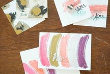 Work of Art Inspirations / Cards and paper craft ideas using the Work of Art stamp set from Stampin' Up!