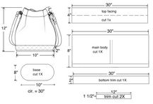 Designing bags and Bag dimensions