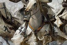 Fantasy warrior stuff