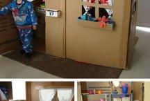 Cardboard - playhouses