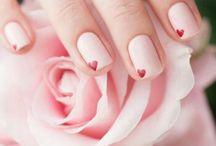 Valentine's Nails Inspiration - Manicure  Walentynkowy