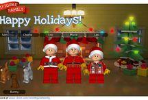 Lego Miniature Family
