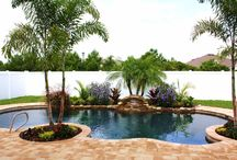 Pool landscaping / by Christina Wilkerson