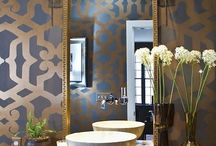 How to Style: Powder Room / http://sothebysrealty.ca/blog/en/2015/04/08/how-to-style-powder-room/