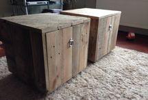 Klus ideeën / Zelf gemaakte/gepimpte meubels