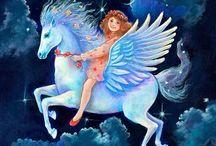 Pegasos y Unicornios