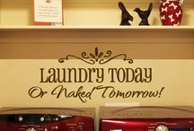 New Laundry Ideas / by Deb Ginbey