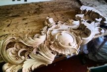 lemn cioplit