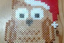 perle mønstre, jul