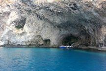 Escursioni in barca / Escursioni in barca alle grotte nei dintorni di Castro nel Salento