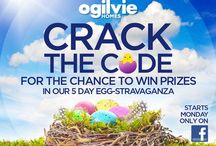 Crack the Code / Welcome to our Easter 5 day EGG-stravaganza competition on our Facebook page.