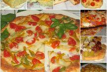 Focacce pizze