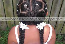 Beautiful Brown Girl's hair / Beautiful Little Girls Hair Styles  / by Xenilda Box Este