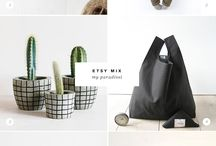 Handmade - Etsy finds / Shop small