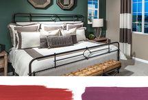 Jewel-toned Paint Colors