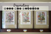 WALL DECOR - To DIY and Buy / ALL THINGS WALL -- COLORS, DECOR, PROJECTS ETC.