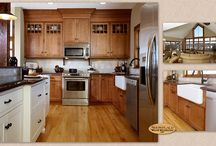 Historical Flavor -Showplace Cabinets / Pendleton Inset Door Style