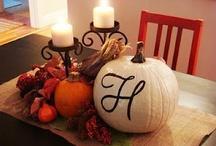 Fall Decorations / by Lynn Little