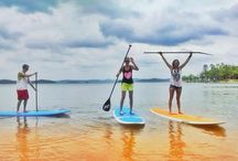 Watersports / When it comes to activities best done wet, Beavers Bend's crystal clear lakes and mountain-fed rivers have something for everyone. Boating, canoeing, kayaking, waterskiing, scuba diving — if it's done in the water, you can do it here.