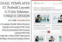 E-mail newsletter designs