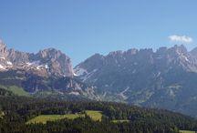 Tirol / Wilder Kaiser / Unterwegs am Wilder Kaiser in Tirol / Österreich